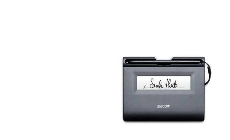 business signature pad tf
