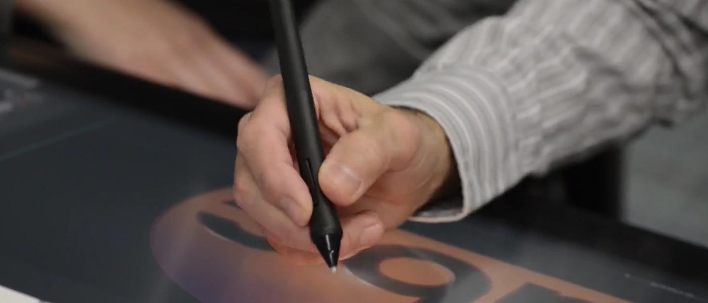 customers using intuos pen f