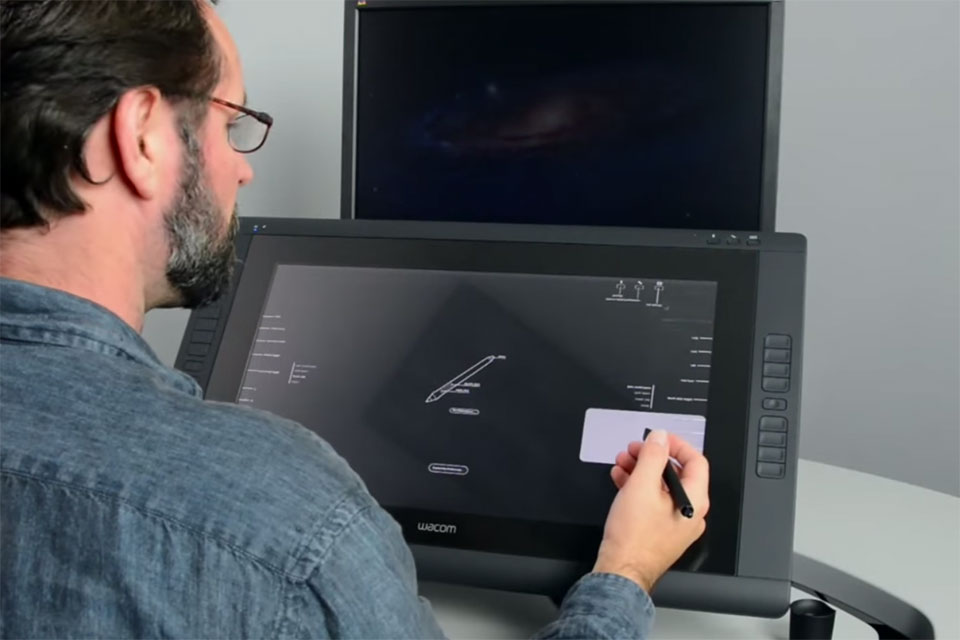 Installing the Cintiq22HD