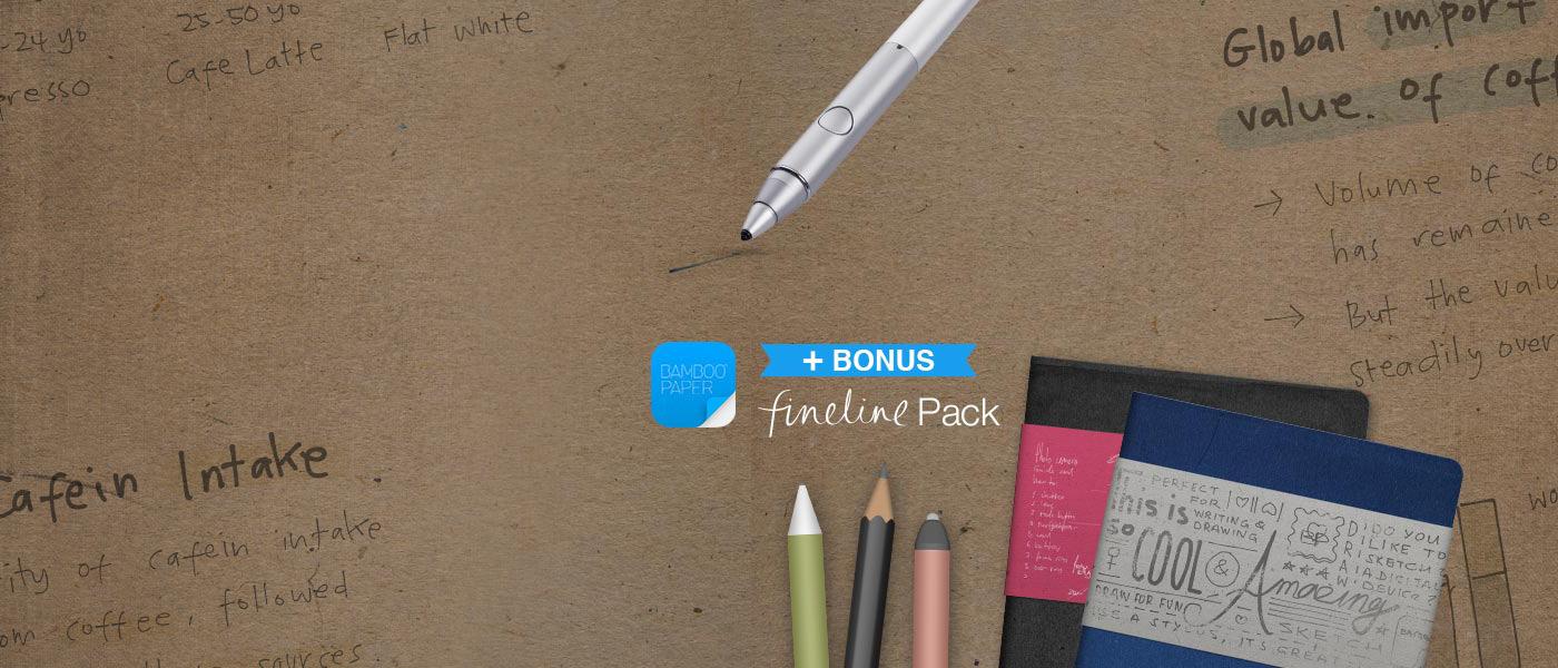 wacom teaser fineline pack f